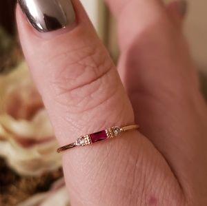 Jewelry - 💲✂️! 14k rose gold filled Midi-ring minimal